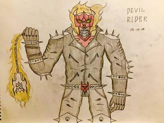 Devil Rider (Final Design) by AGuynamedJdogg