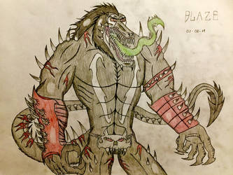 Blaze (Final Design) by AGuynamedJdogg