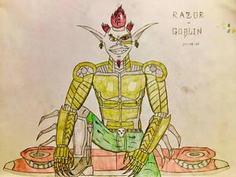 Razor-Goblin (Final Design) by AGuynamedJdogg