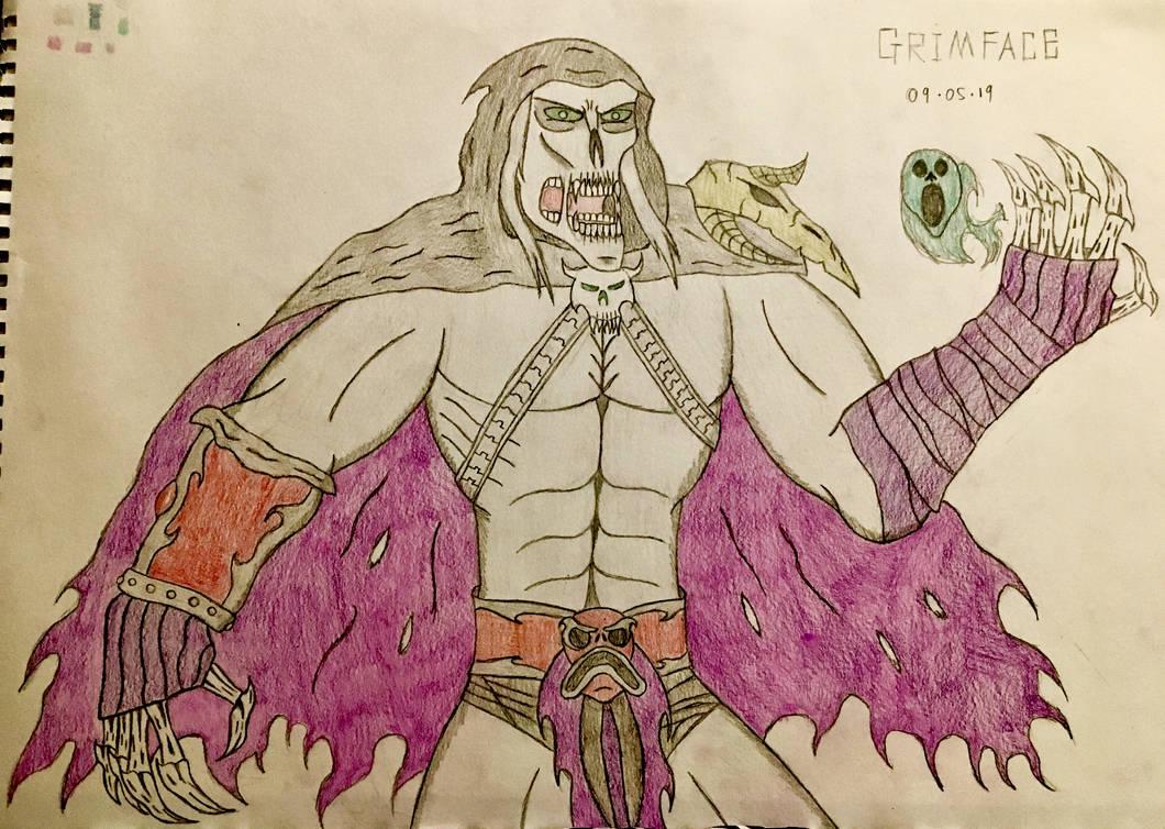 Grimface (final design) by AGuynamedJdogg