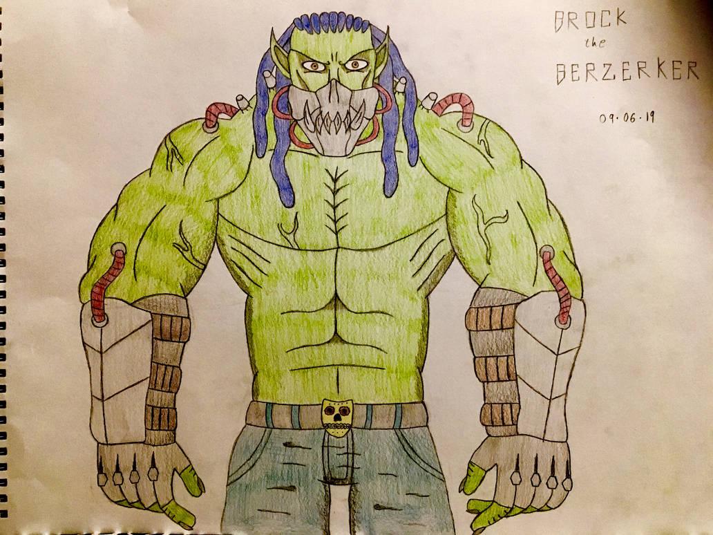 Brock the Berzerker (final design) by AGuynamedJdogg