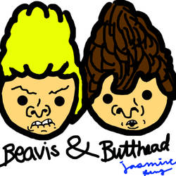 Beavis and Butthead by j4smini