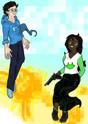 headcanon John and Jade by Lyeekha