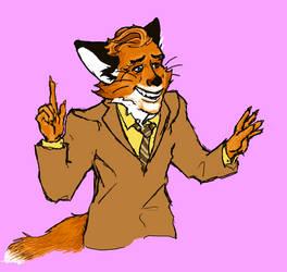 Fantastic Fox by Lyeekha