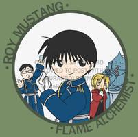FMA : Flame Alchemist by akai-sakuranbo