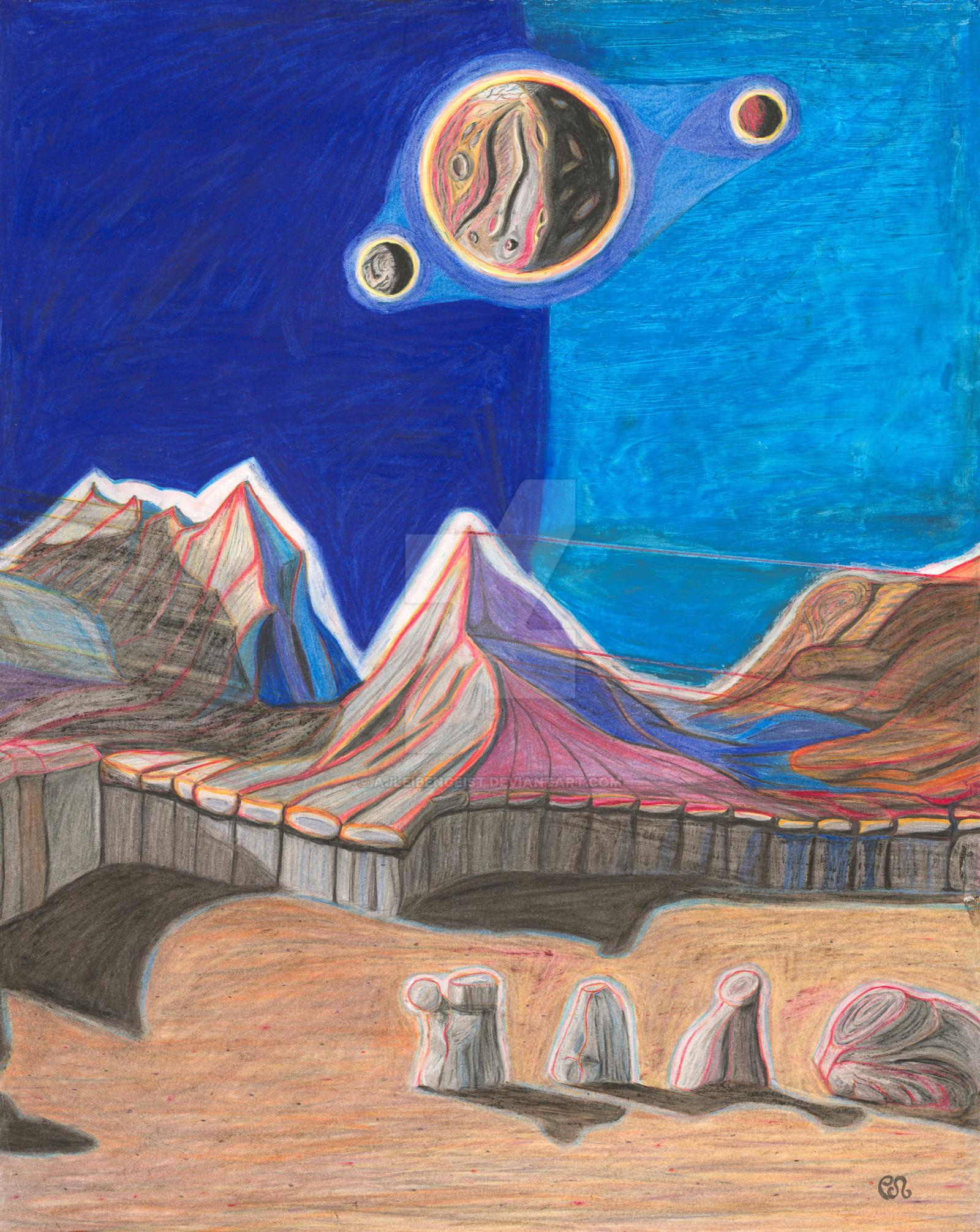 The Blue Hills, 3 of 6 by AJLeibengeist