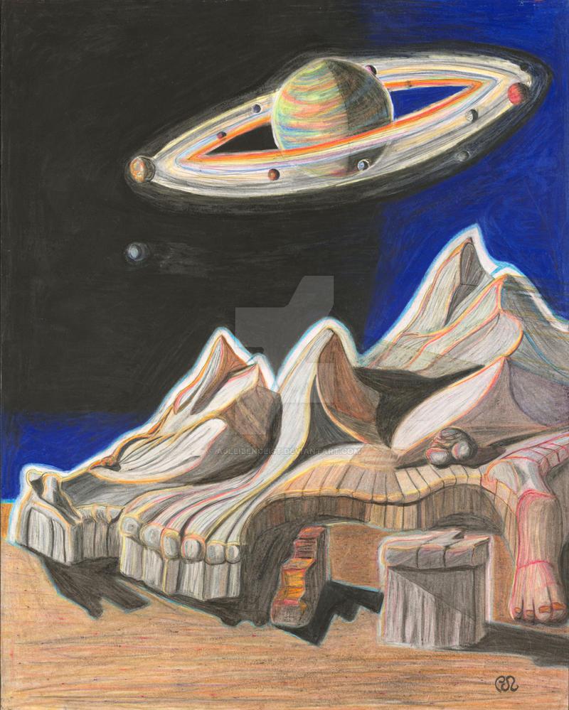 Visionary Mountains, 2 of 6 by AJLeibengeist