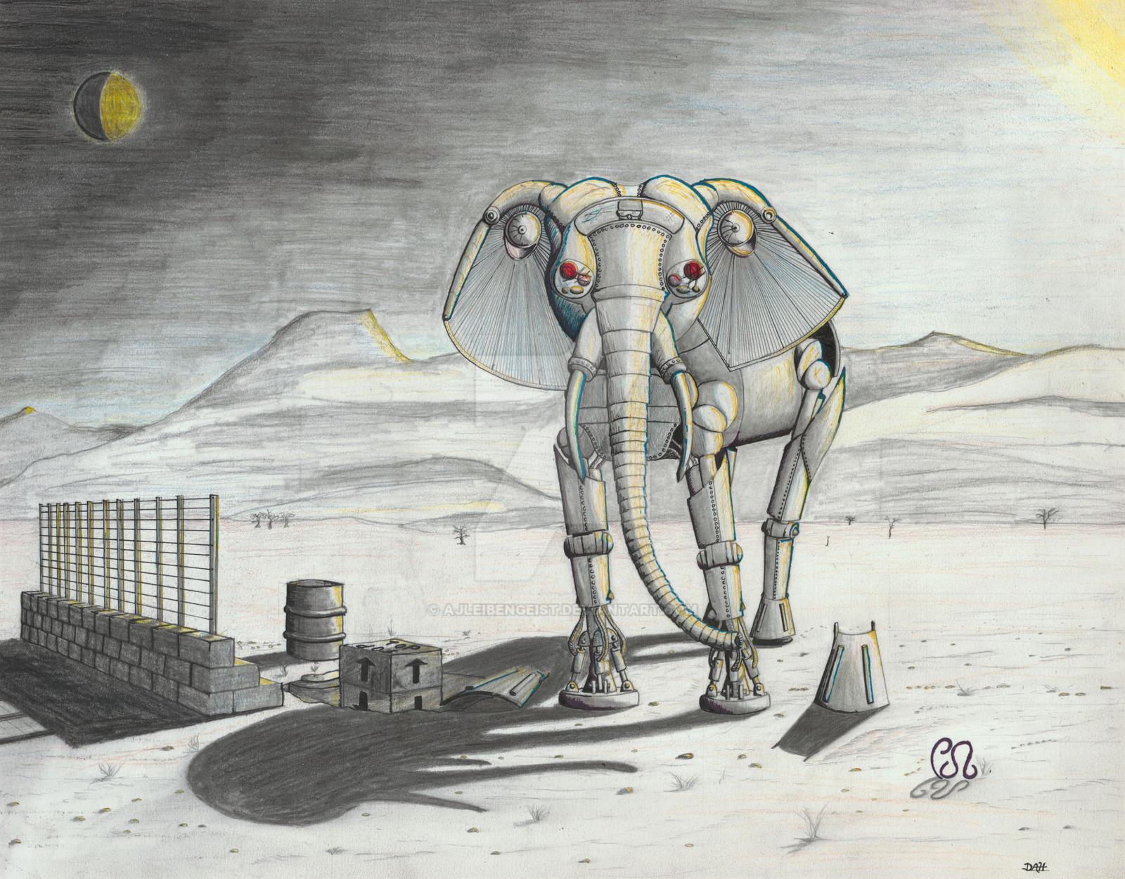Mechanical Elephant by AJLeibengeist