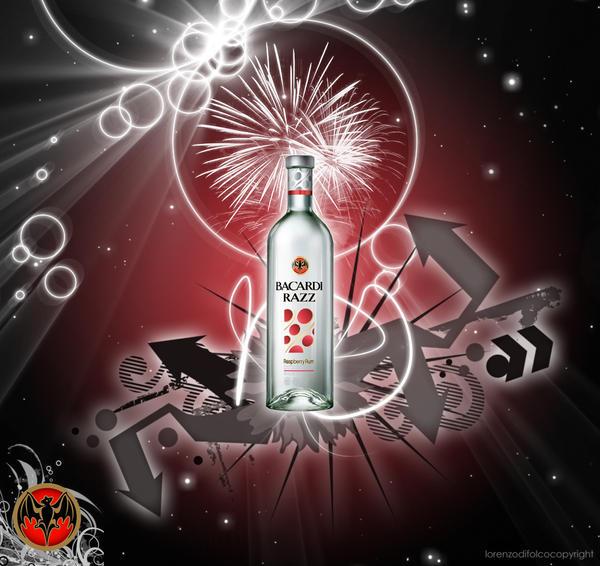 Bacardi Rum - Razz by LorenzoDiFolco