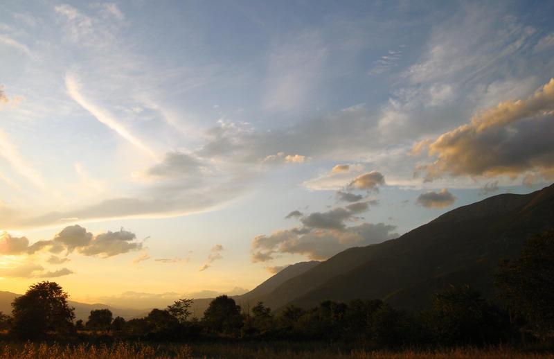 Countryside Sunset XI by LorenzoDiFolco