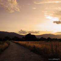 Countryside Sunset XIII by LorenzoDiFolco