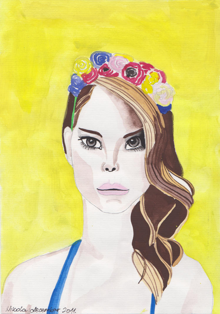Lana Del Rey by nikolabjovanovic