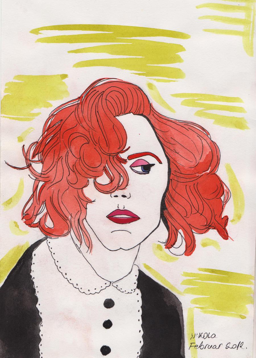 Jessica Chastain by nikolabjovanovic
