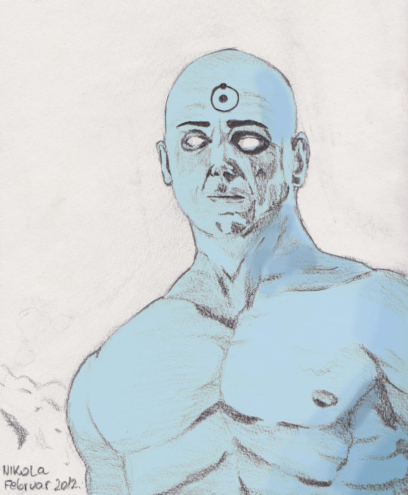 dr Manhattan by nikolabjovanovic