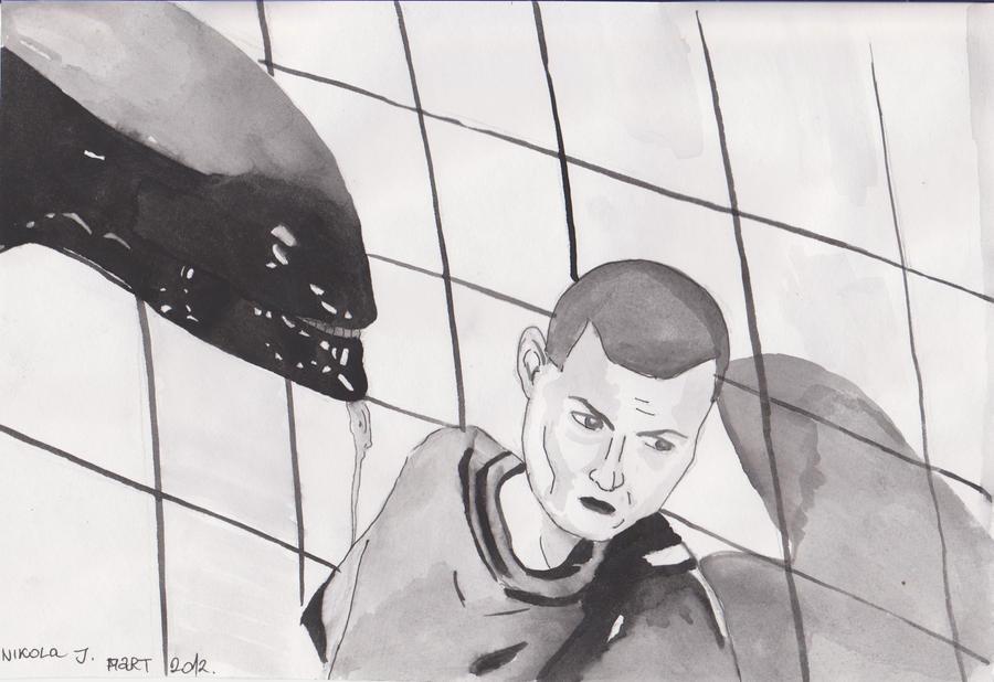 Alien 3 by nikolabjovanovic