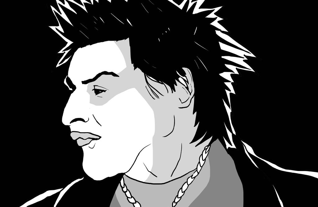 Sid Vicious by nikolabjovanovic
