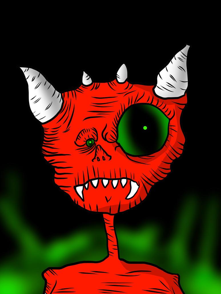 Demon by nikolabjovanovic