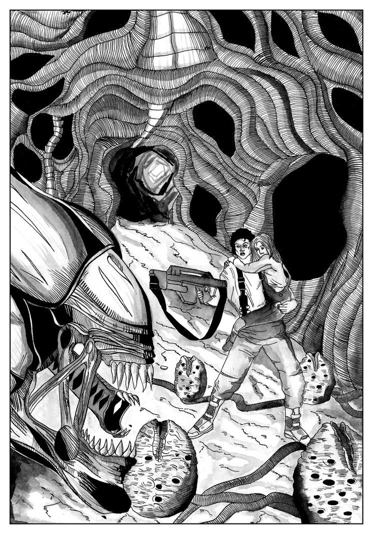 Aliens by nikolabjovanovic