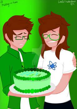 [ HOMESTUCK ] happy birthday, jake and jade!