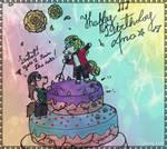 Happy Birthday dear friend! :D