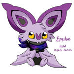 Epsilon as my pokemon bat
