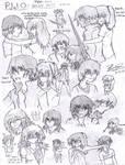 Percy Jackson Sketches