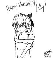 Katawa Shoujo: Happy Birthday Lilly! by z3ro-hour