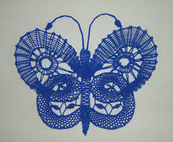 Butterfly Series - Blue by Myr by Nature-Club