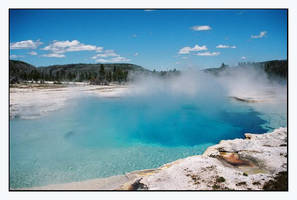 Yellowstone hot spring by Capt by Nature-Club