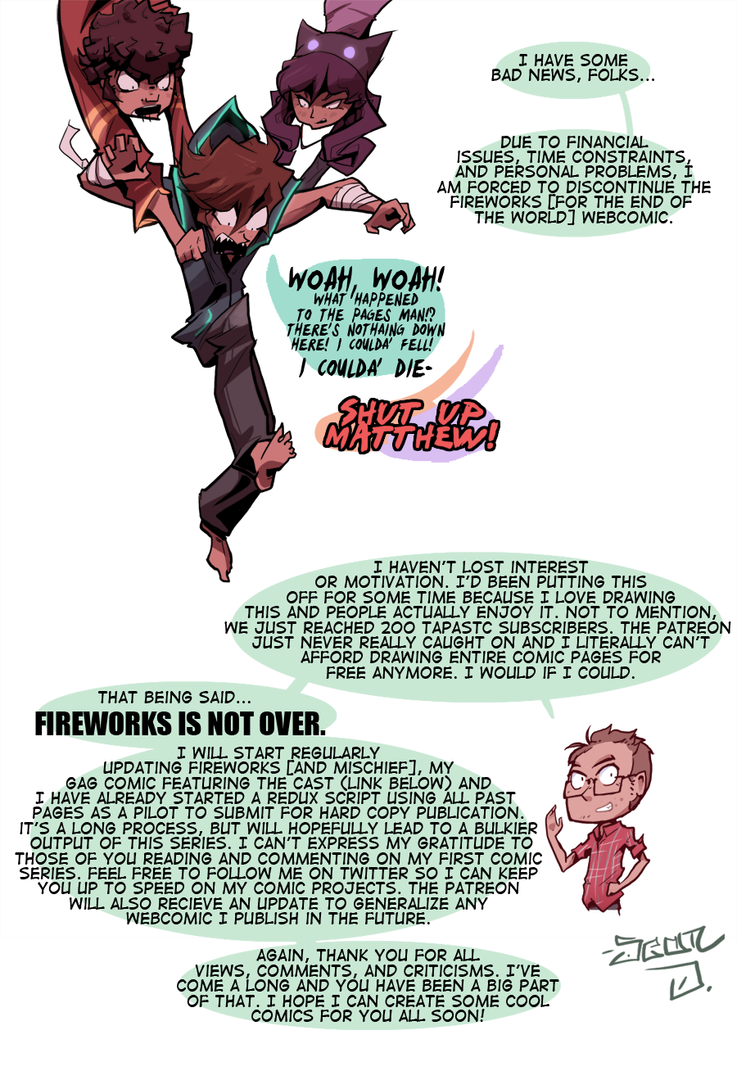 Fireworks [For the End] by BatArchaic