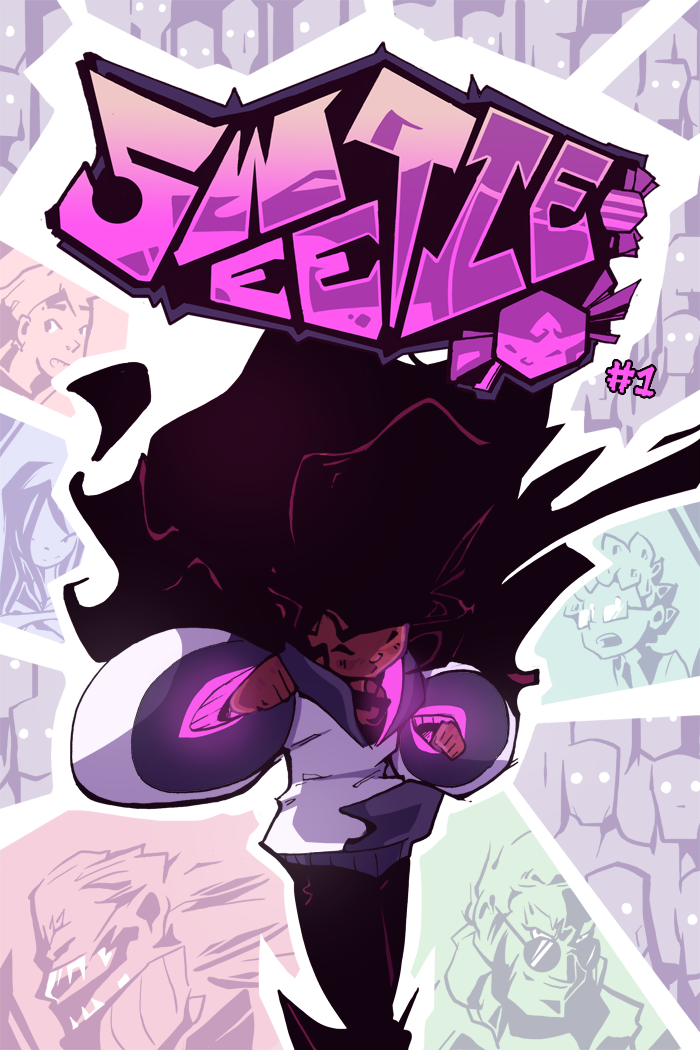 Sweetie Issue 1 Cover by BatArchaic