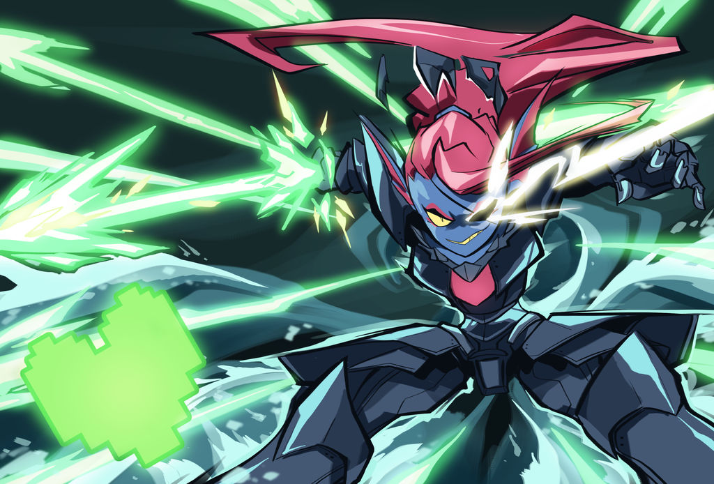Undyne the Undying by BatArchaic