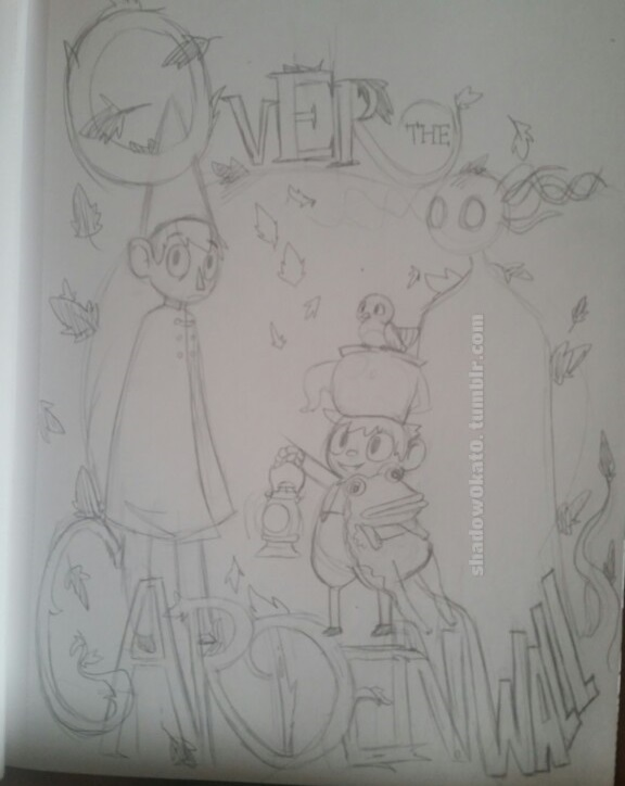 Over the Garden Wall (SKETCH) by Shadow0Kat0