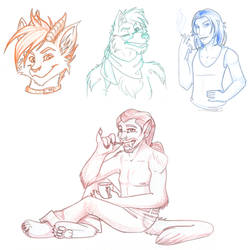 Raffle sketches