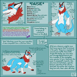 Commish: Daisie Ref by BecSparrow