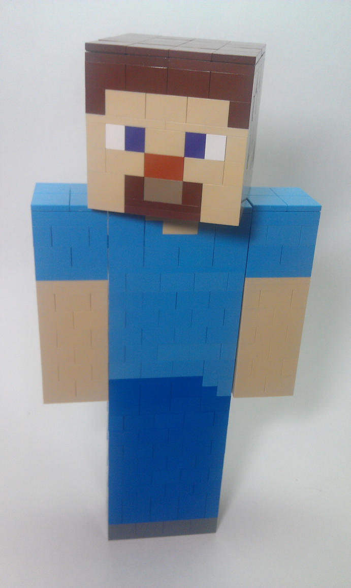 Lego Minecraft Steve b...