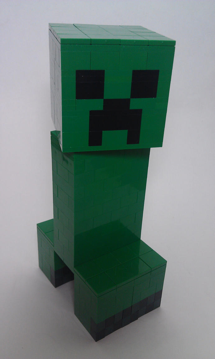how to build creeper in minecraft