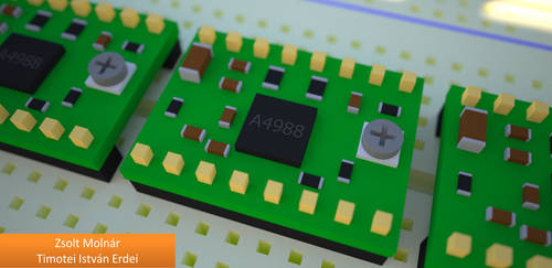 Our CNC Prototype Machine - Timotei Isvan Erdei by Timotei-Robotics