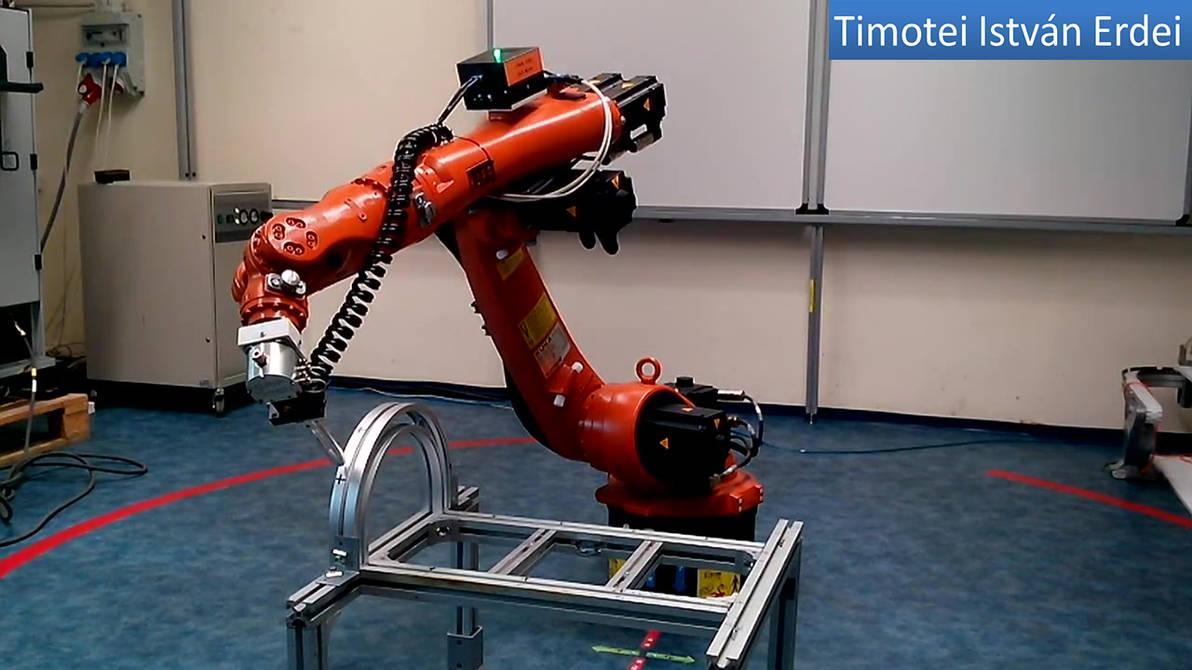KUKA Robot Arm Programming - Timotei Istvan Erdei by Timotei