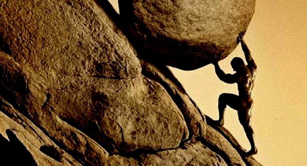 My Life - The Myth of Sisyphus by NaomiGut