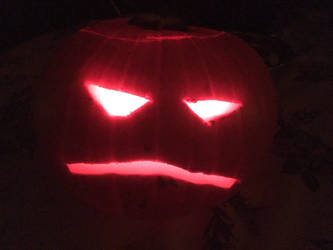 The Unimpressed Pumpkin From Hell