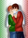 Before a kiss