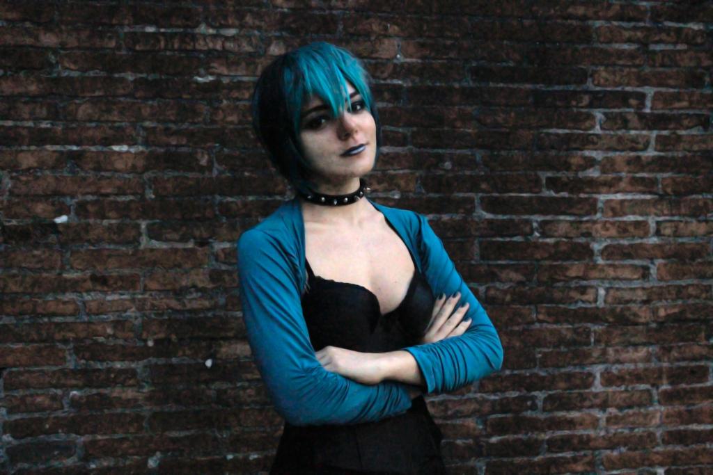 cosplay Gwen total drama