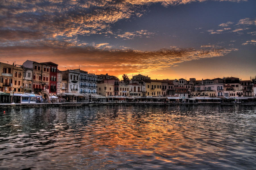 Old harbor Chania HDR by ArtSpawnGr on DeviantArt