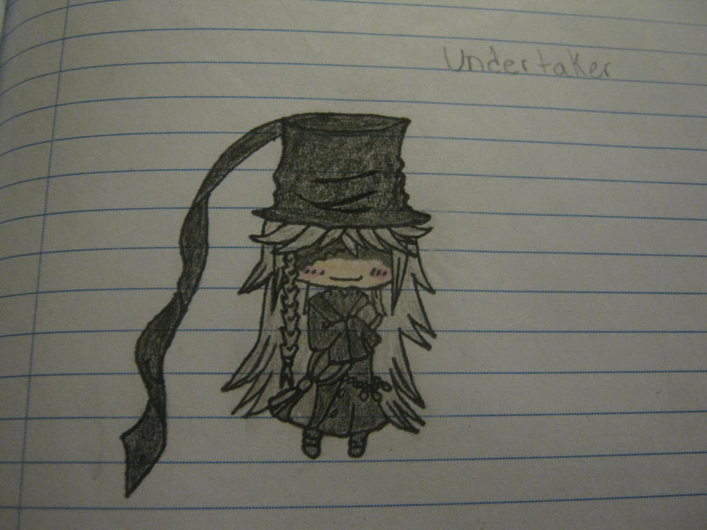 Chibi Undertaker From Black Butler By Itachi12333