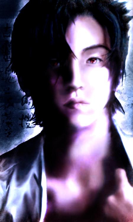 Sasuke-Moonlight by inkscripter
