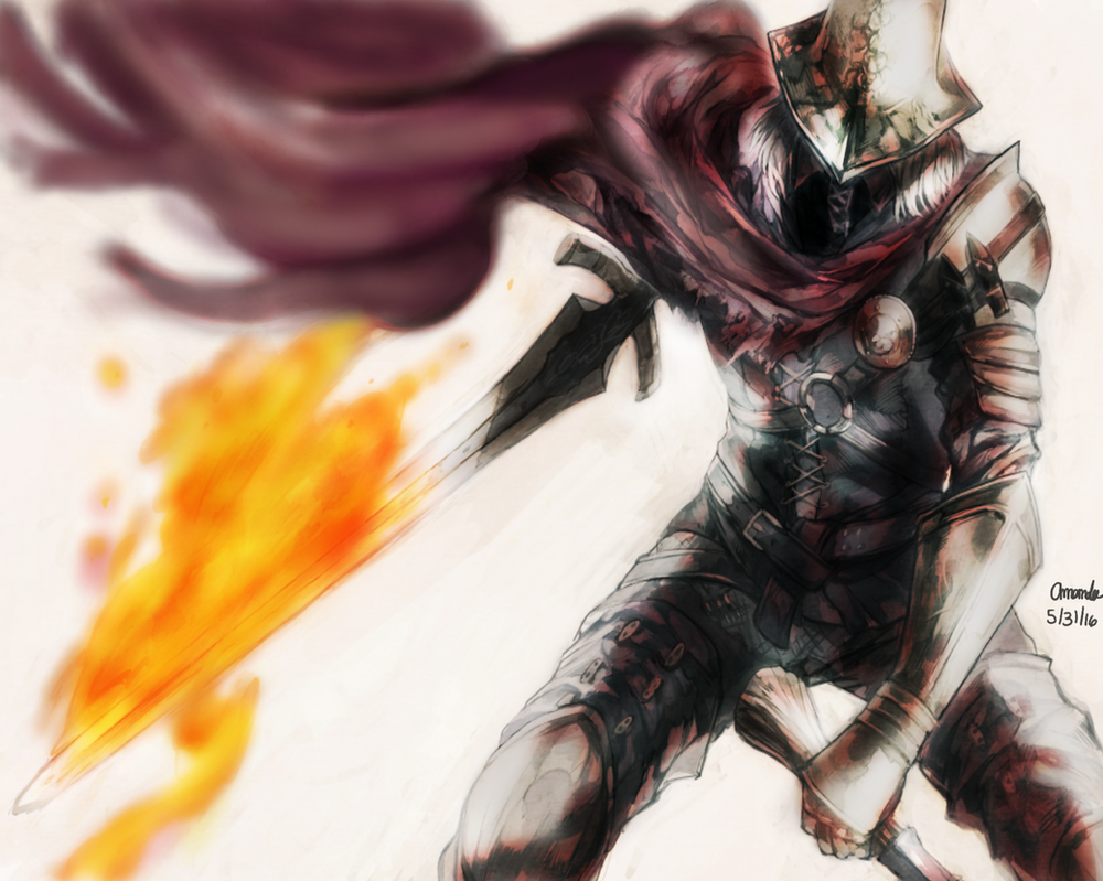 Dark souls 3 abyss watcher by saphiraryuuka on deviantart - Watchers dark souls 3 ...