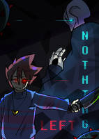 [UNDERTALE COMIC] NOTHING LEFT - 00 by LuLu-Ne