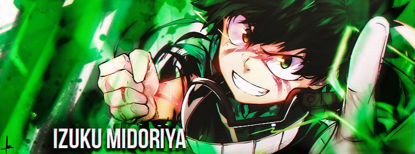 Facebook cover Izuku Midoriya