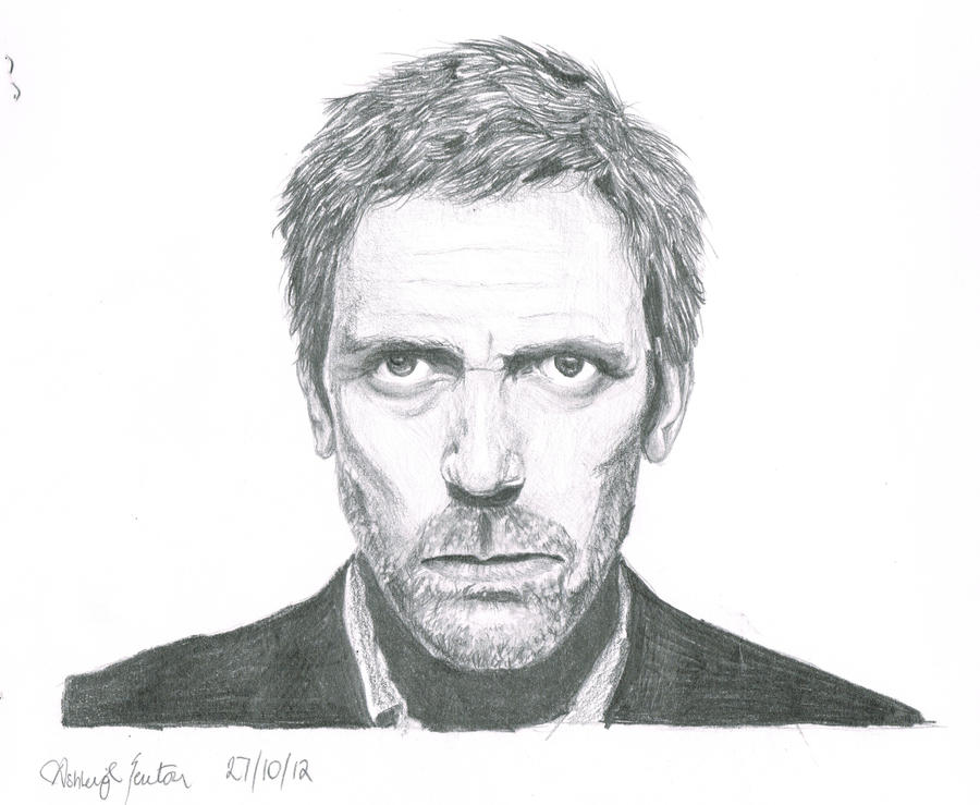 Hugh Laurie by celloismistic
